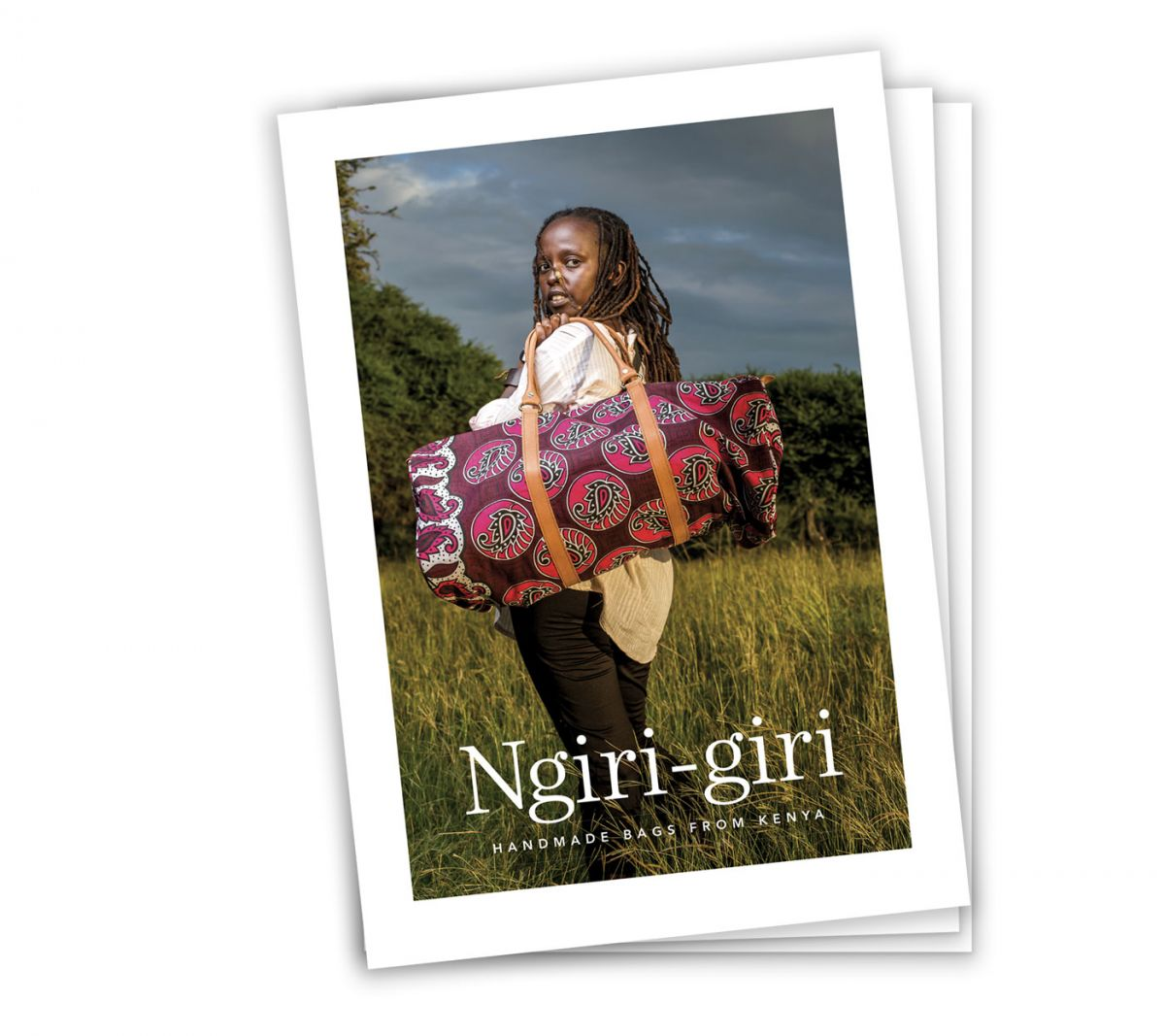 Ngiri Giri - Product Catalogue Design - Front Cover