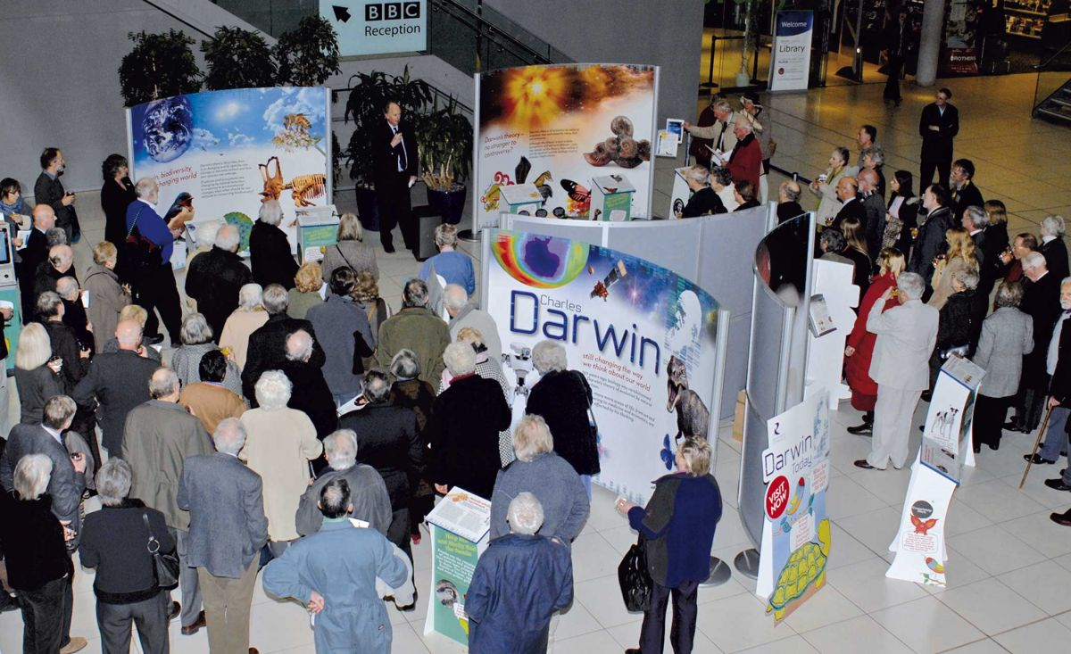 Darwin Today - Science Exhibition - Public Launch