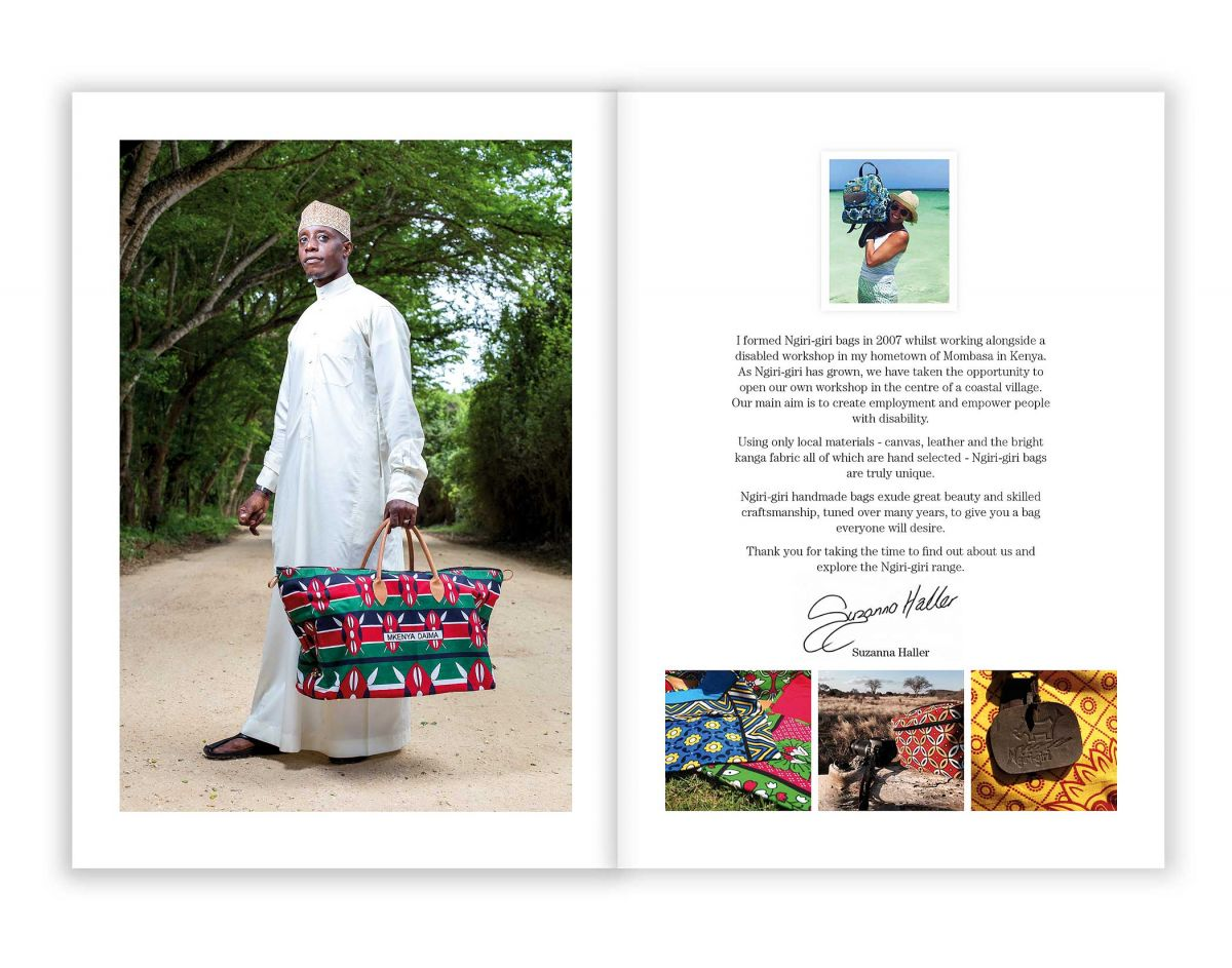 Ngiri-Giri Catalogue Design - Inside Front Cover and Introduction