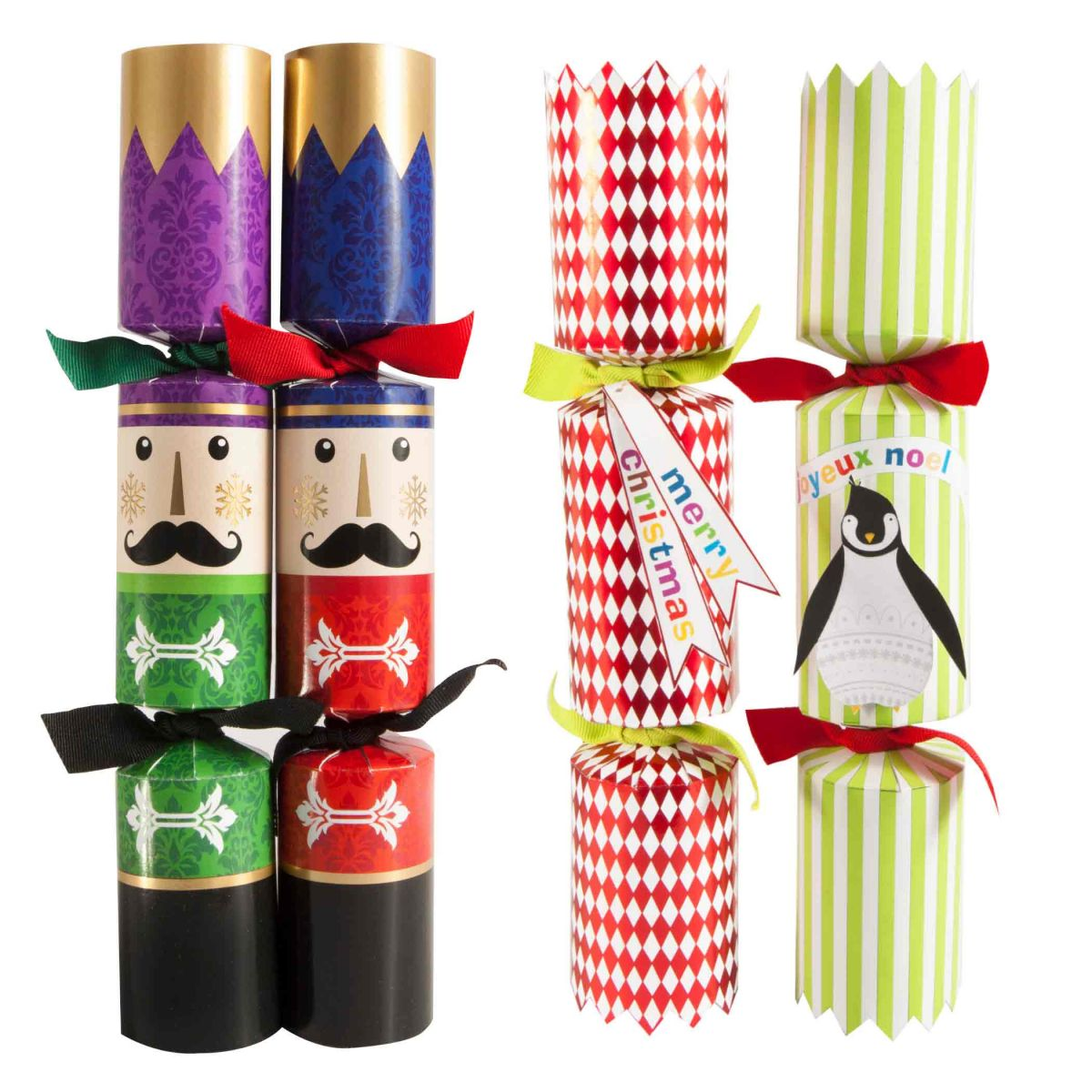 Young Bright Christmas Cracker Designs