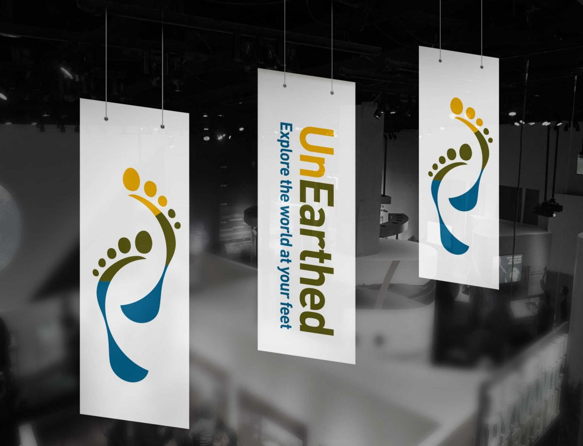 NERC - UnEarthed Science Event - Hanging Banners