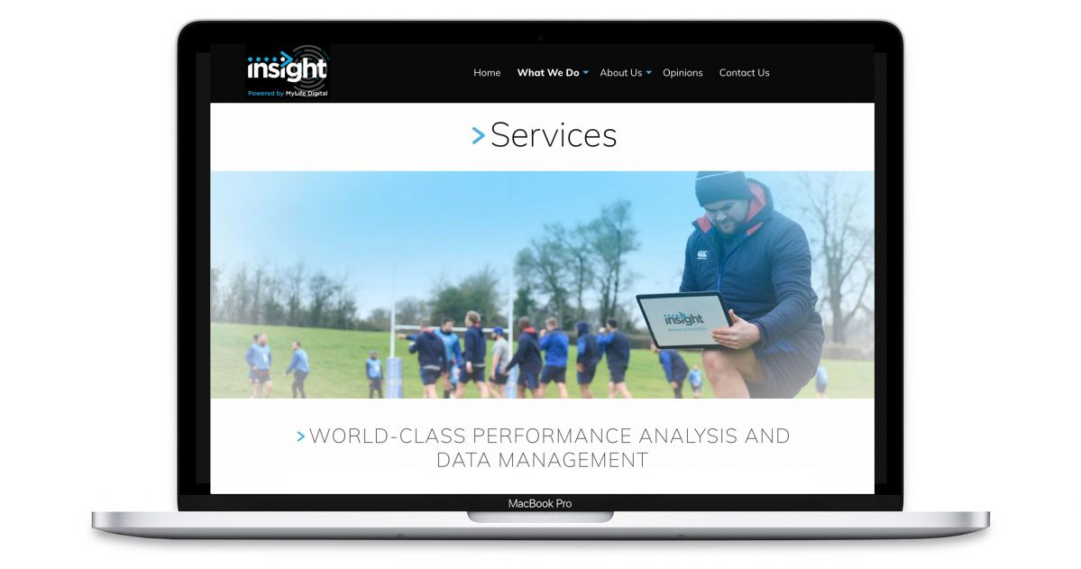Insight - Sports Analysts Experts - Services Web Page